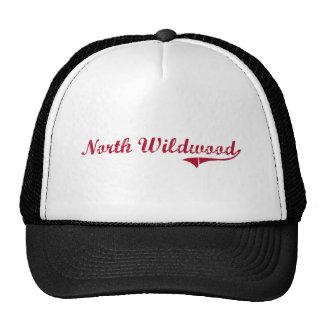 North Wildwood New Jersey Classic Design Mesh Hats