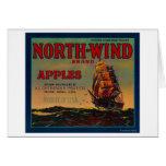 North Wind Apple Crate LabelYakima, WA