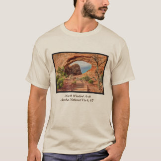 North Window Arch - Arches National Park - Utah T-Shirt