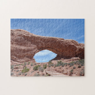 North Window- Arches National Park Jigsaw Puzzle