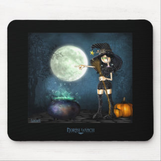 North witch mouse pad