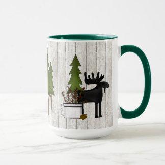 North Woods Western coffee mug
