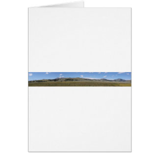 North Yellowstone Panorama Card