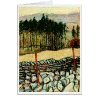 'North Yorkshire Moors' Fine Art Greeting Card