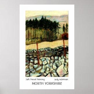 North Yorkshire Moors Print or Poster. print