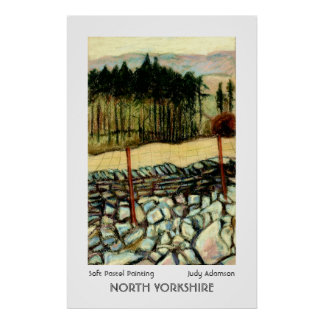 North Yorkshire Moors Print or Poster.