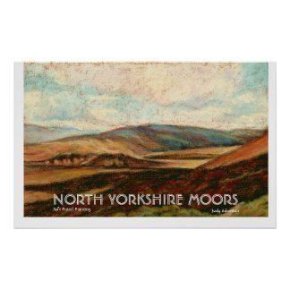 North Yorkshire Moors Print/Poster.. Poster