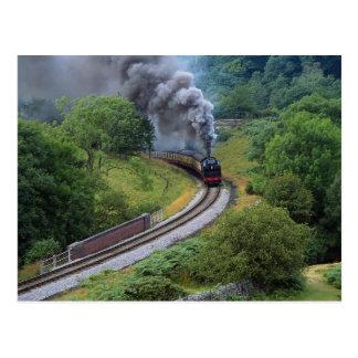 North Yorkshire Moors Railway, England Postcard