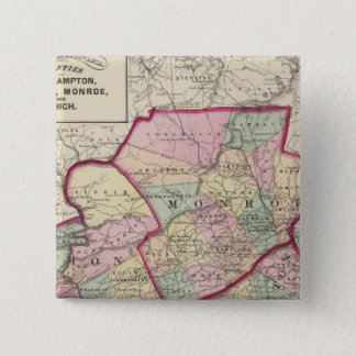 Northampton, Carbon, Monroe, Lehigh counties Pinback Button