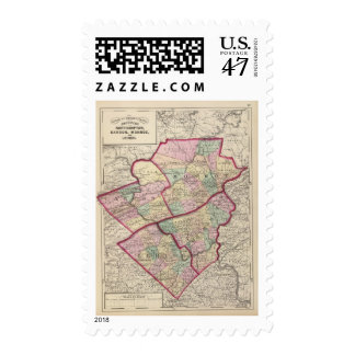 Northampton, Carbon, Monroe, Lehigh counties Postage