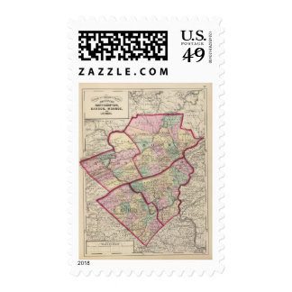Northampton, Carbon, Monroe, Lehigh counties Postage Stamps