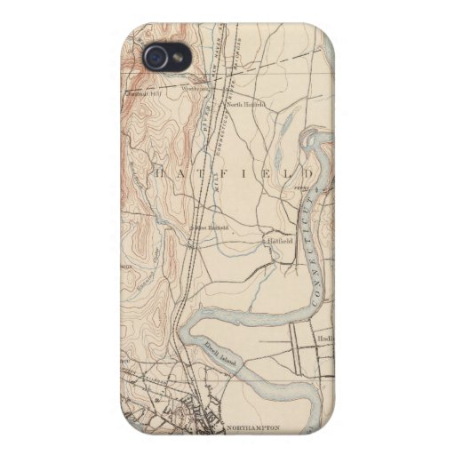 Northampton, Massachusetts Cover For iPhone 4