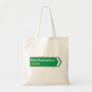 Northampton, UK Road Sign Bag