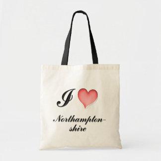northamptonshire canvas bag
