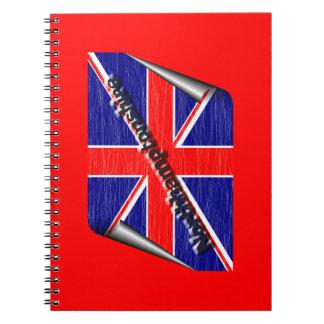 northamptonshire spiral notebook