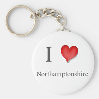 northamptonshire llavero redondo tipo pin
