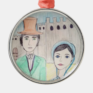 Northanger Abbey 2nd Metal Ornament