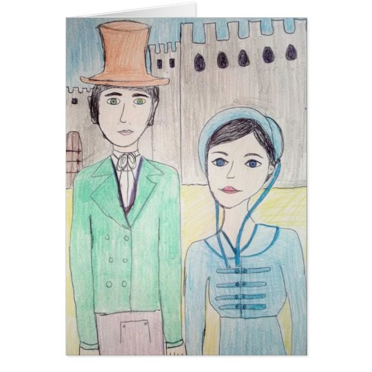 Northanger Abbey Card