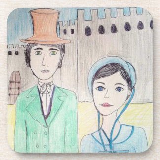 Northanger Abbey Drink Coaster