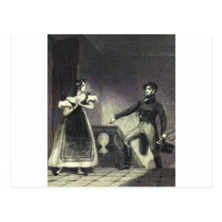 Northanger Abbey - Jane Austen Postcard