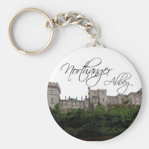 northanger abbey keyring basic round button keychain