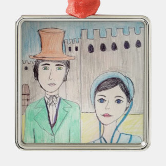 Northanger Abbey Metal Ornament