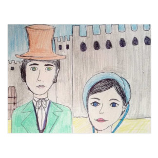 Northanger Abbey Post Card