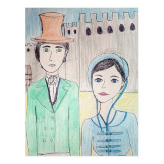 Northanger Abbey Post Cards