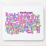 northanger abbey word cloud mat mouse mat
