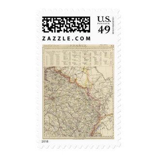 Northeast France Postage
