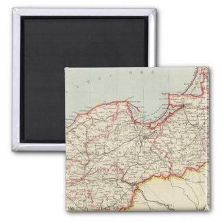 Northeast German Empire Fridge Magnets
