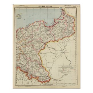 Northeast German Empire Poster