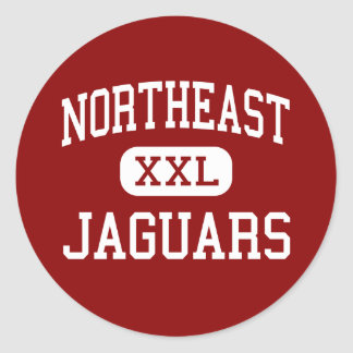 Northeast - Jaguars - Middle - Grand Rapids Classic Round Sticker