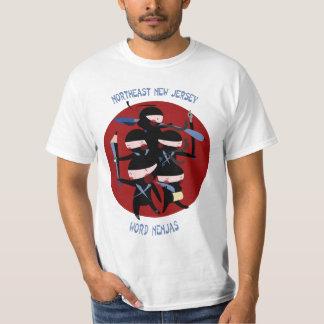 Northeast New Jersey Word Nenjas Shirts