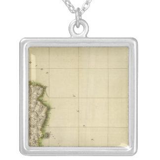 Northeast Perthshire Square Pendant Necklace