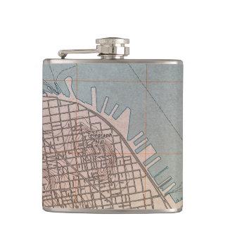 Northeast San Francisco Topographic Map Flask