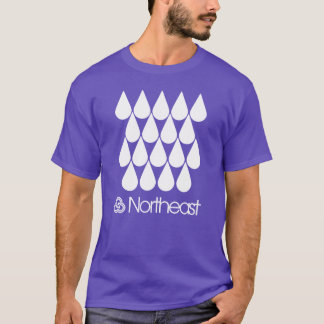 Northeast Sector Symbol - Raindrops T-Shirt