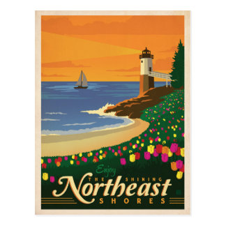 Northeast Shores | United States Postcard
