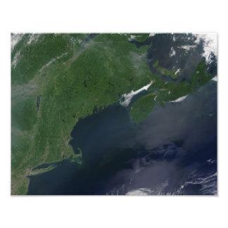 Northeast United States and Canada Photo Print