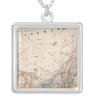 Northeast United States Square Pendant Necklace