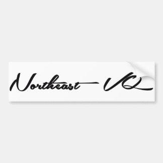 Northeast VQ Bumper Sticker