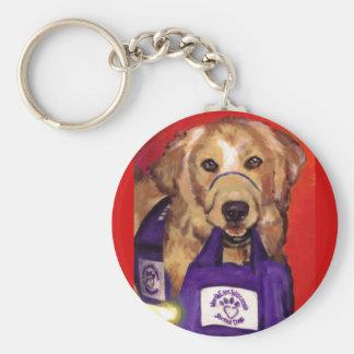 Northeast Wisconsin Service Dogs Keychain