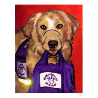 Northeast Wisconsin Service Dogs Postcard