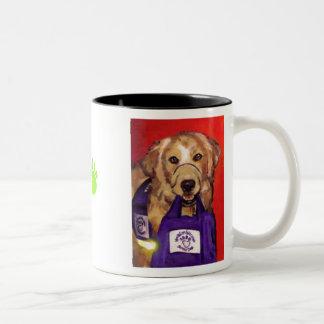 Northeast Wisconsin Service Dogs Two-Tone Coffee Mug