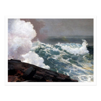 Northeaster by Winslow Homer Postcard