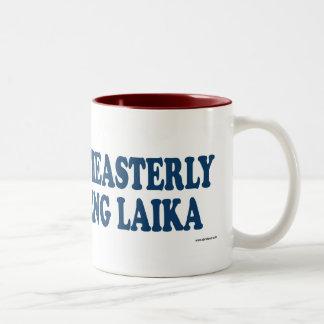 Northeasterly Hauling Laika Blue Two-Tone Coffee Mug