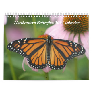 Northeastern Butterflies 2014 Calendar