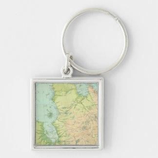 Northeastern Canada Keychain