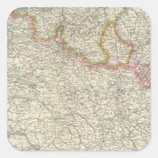 Northeastern France Square Sticker