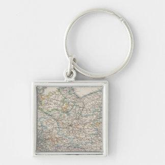 Northeastern Germany Keychain